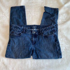 LOFT modern capri jeans 8